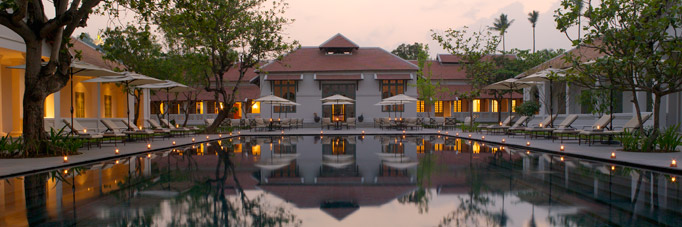 The new Amantaka in Luang Prabang, Laos