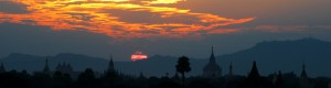 On Sunsets and Temples, Myanmar (Burma)
