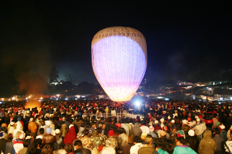 The Taunggyi Festival–Myanmar