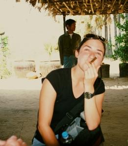 Rebecca in Burma