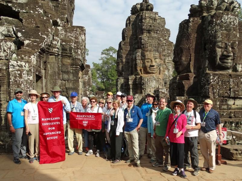 HAA Group at Bayon Temple Angkor
